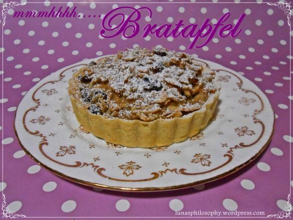 Bratapfel-Tartelette